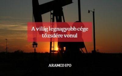 ARAMCO IPO – A világ legnagyobb cége tőzsdére vonul